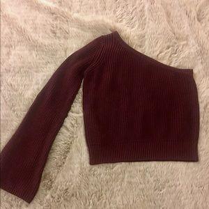 Maroon/burgundy Knit sweater